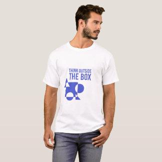 """Minimalist T-Shirt """"Think outside the box """""""