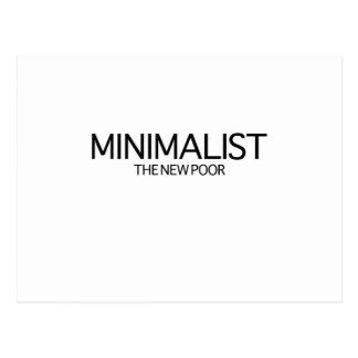Minimalist (The New Poor) Postcards