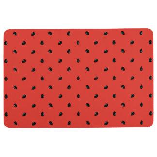 Minimalist Watermelon Seed Pattern Floor Mat