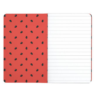 Minimalist Watermelon Seed Pattern Journal