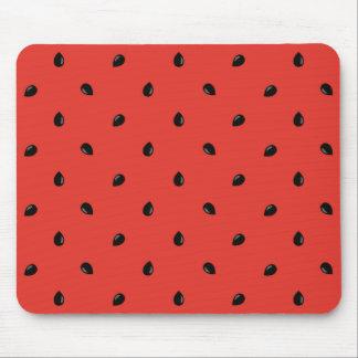 Minimalist Watermelon Seed Pattern Mouse Pad