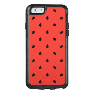 Minimalist Watermelon Seed Pattern OtterBox iPhone 6/6s Case