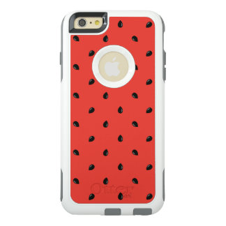 Minimalist Watermelon Seed Pattern OtterBox iPhone 6/6s Plus Case