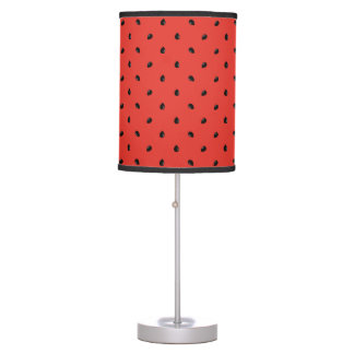 Minimalist Watermelon Seed Pattern Table Lamp