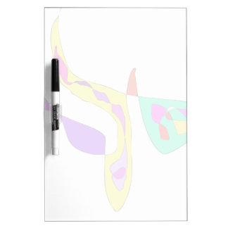 Minimalistic Abstract Fauvism Dry Erase Board