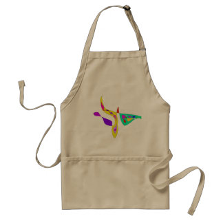 Minimalistic Abstract Fauvism Standard Apron