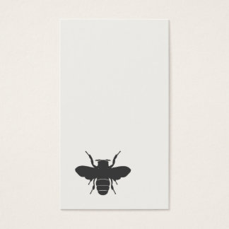 Minimalistic Bee Business Card