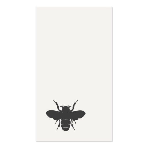 Minimalistic Bee Business Card