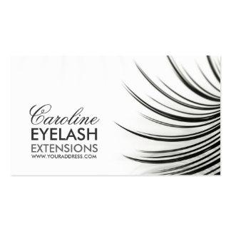 Minimalistic Eyelash Extensions Business Card