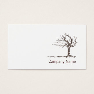 Minimalistic Modern Zen Business Card Template