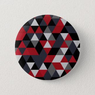 Minimalistic polygon pattern (Prism) 2 Inch Round Button