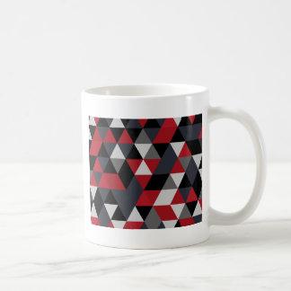 Minimalistic polygon pattern (Prism) Coffee Mug