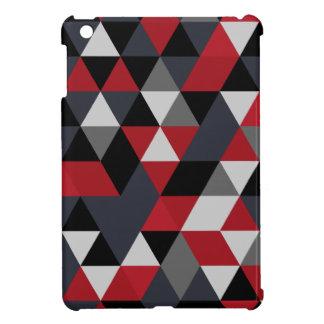Minimalistic polygon pattern (Prism) iPad Mini Cases