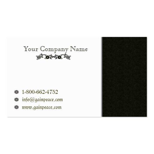 Minimalistic series2 business card template