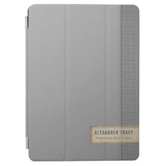 Minimalistic Two-tone Gray iPad Air Cover