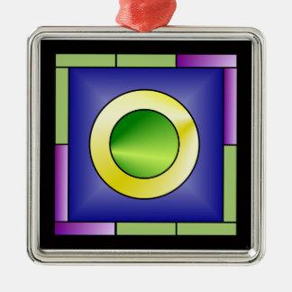 Minimalistic World Art Deco Metal Ornament