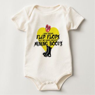 MINING BOOTS BABY BODYSUIT