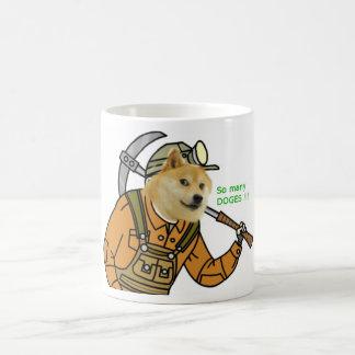 Mining Shibe Coffee Cup