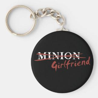 Minion Girlfriend Keychain