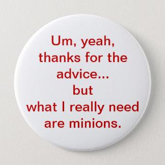 Minions 4 Inch Round Button