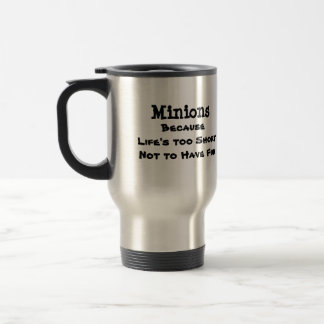 Minions Because 15 Oz Stainless Steel Travel Mug