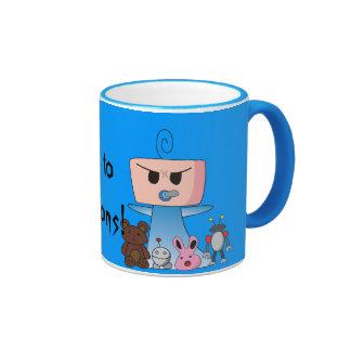 """""""Minions"""" Mug - An Angry Baby Design"""