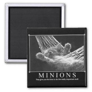Minions Square Magnet