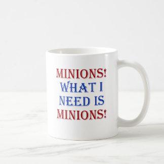 Minions! What I need is minions! Classic White Coffee Mug