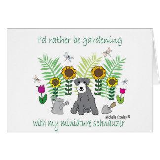 MiniSchnauzer Card