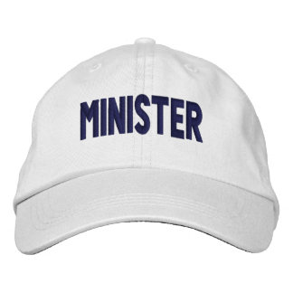 Minister - Cap Embroidered Hat