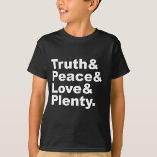 Ministries of Truth & Peace & Love & Plenty T-Shirt