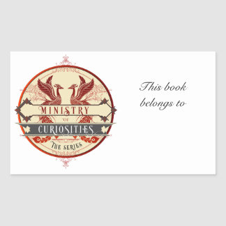 Ministry of Curiosities Bookplate Sticker