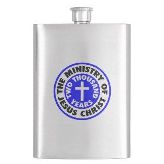 Ministry of Jesus Christ Flasks