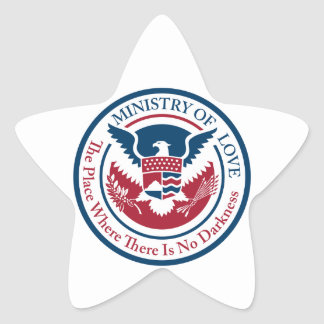 ministry of love, official seal