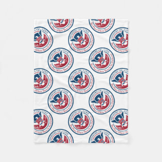 ministry of love, official seal fleece blanket