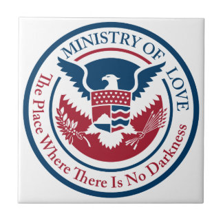 ministry of love, official seal tile