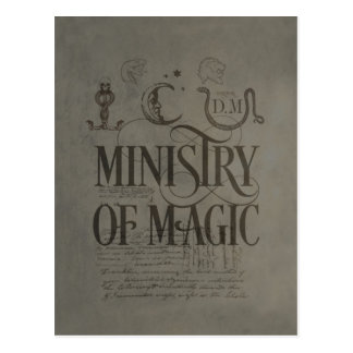 MINISTRY OF MAGIC™ POSTCARD