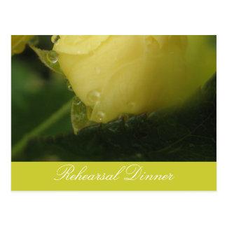 Miniture Rosebud Postcard