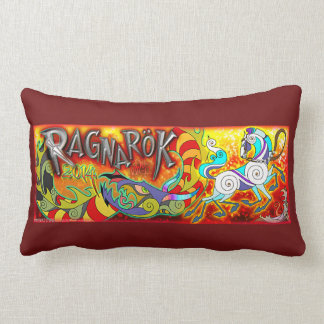 Mink Nest 2014 RAGNAROK Memorial Pillow Red