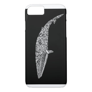 Minke Whale Tribal Graphic Illustration iPhone 8/7 Case