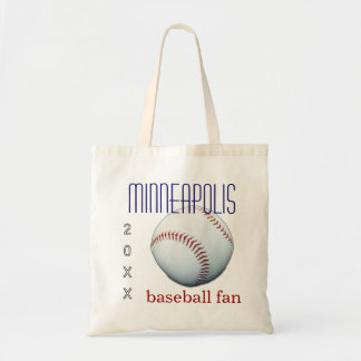 Minneapolis Baseball Fan Tote Bag