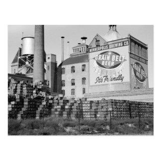Minneapolis Brewery, 1930s Postcard