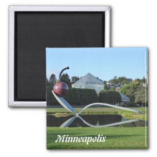 Minneapolis Cherry and Spoonbridge Photo Magnet