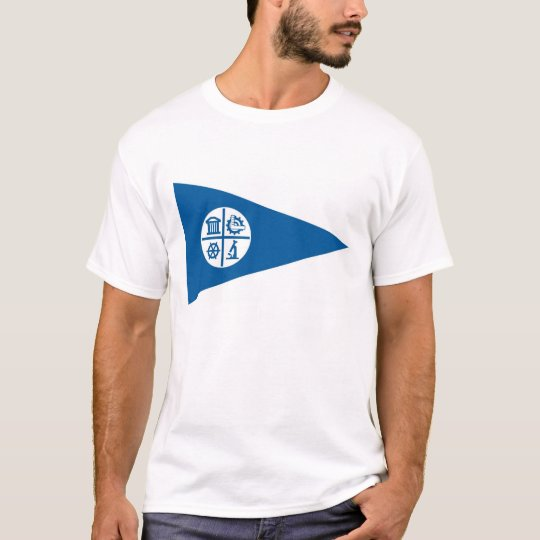 minneapolis city flag united states america T-Shirt
