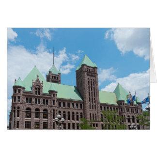 Minneapolis City Hall Card
