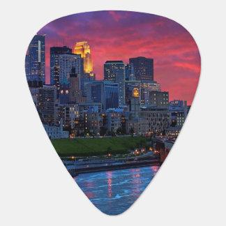 Minneapolis Eye Candy Guitar Pick