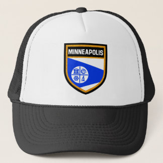 Minneapolis Flag Trucker Hat