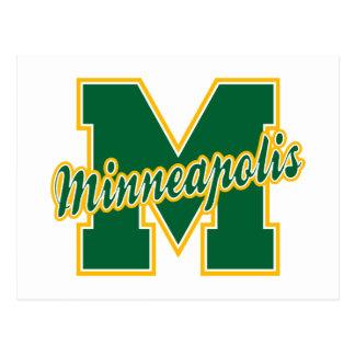 Minneapolis Letter Postcard