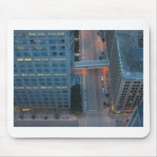 Minneapolis Minnesota Birds Eye View Mouse Pad