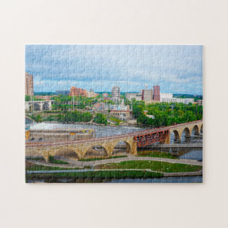 Minneapolis Minnesota . Jigsaw Puzzle